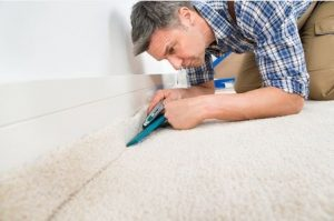 Laying Carpet