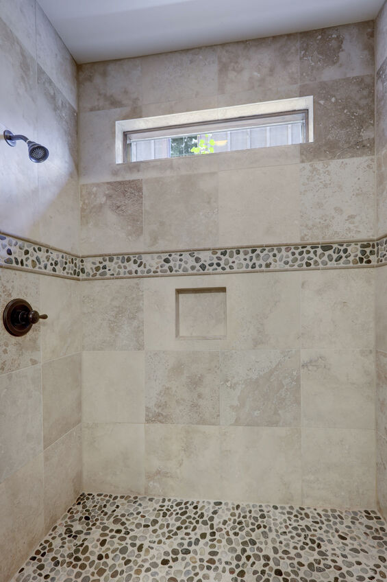 Stone Shower Floor